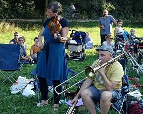 Hochzeitskapelle @ Isarufer München 2018-09-20 - DSC00471
